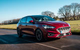 Ford Focus ST-line X 2019 road test review - on the road hero