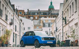 Honda e 2020 road test review - static