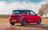 Hyundai i10 2020 road test review - static rear