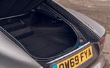 Jaguar F-Type 2020 road test review - boot