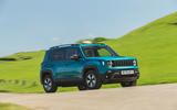 27 Jeep Renegade 4xe 2021 RT on road front