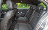 Mercedes-Benz A-Class 2018 road test review rear seats