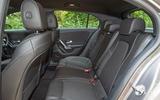 Mercedes-Benz A-Class 2018 road test review rear seats