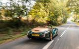 Morgan Aero GT 2018 review - action rear