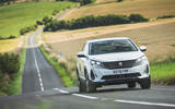 27 Peugeot 3008 2021 RT on road front
