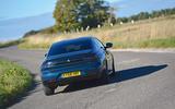 Peugeot 508 2018 road test review - cornering rear