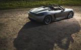 Porsche 718 Spyder 2020 road test review - static
