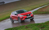 Renault Captur 2020 road test review - on the road front