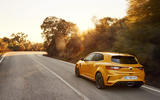 Renault Megane RS 280 2018 road test review on the road rear