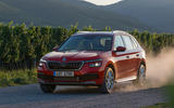 Skoda Kamiq 2019 road test review - dust