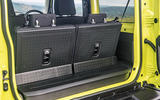 Suzuki Jimny 2018 road test review - boot space seats up