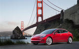 Tesla Model 3 2018 road test review hero static front