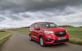 Vauxhall Combo Life 2018 road test review - on the road front