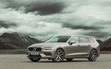 Volvo V60 2018 road test review hero static