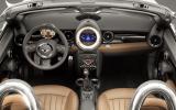 Mini Roadster Cooper S dashboard