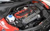 2.5-litre Audi TT RS petrol engine