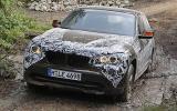 BMW X1 xDrive23d prototype off-roading