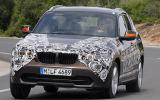 BMW X1 xDrive23d prototype cornering