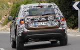 BMW X1 xDrive23d prototype rear cornering