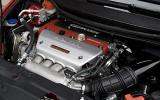 Honda Civic Type R Mugen engine