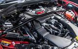 Alfa Romeo Stelvio Quadrifoglio 2019 road test review - engine