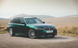 Alpina B3 Touring 2020 road test review - static