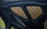 Aston Martin DBS Superleggera 2018 road test review - bonnet gold