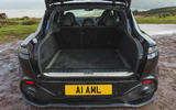 Aston Martin DBX 2020 road test review - boot
