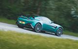 28 Aston Martin Vantage F1 2021 RT tracking side