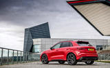 Audi RS Q3 2020 road test review - static rear