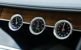 Bentley Continental GT 2018 Autocar road test review dials