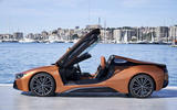 BMW i8 Roadster 2018 review static side doors