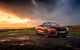 BMW M8 Competition convertible 2020 road test review - static