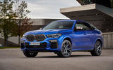 BMW X6 M50i 2019 road test review - static front
