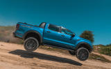 Ford Ranger Raptor 2019 road test review - jump side