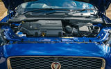 Jaguar E-Pace review engine front