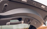 Jaguar F-Type 2020 road test review - boot handle