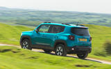 28 Jeep Renegade 4xe 2021 RT on road rear