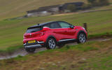 Renault Captur 2020 road test review - on the road rear