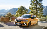 Renault Megane RS 280 2018 road test review on the road side profile