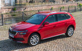 Skoda Kamiq 2019 road test review - static front