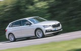 Skoda Scala 2019 road test review - on the road side