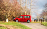 Vauxhall Combo Life 2018 road test review - on the road side