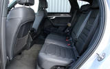 Volkswagen Touareg 2018 road test review rear seats