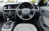 Audi A4 dashboard