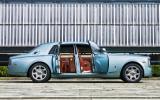 Rolls-Royce Phantom 102EX doors open