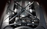 Lamborghini Aventador engine bay