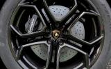 Lamborghini Aventador black alloys