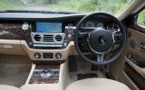 Rolls-Royce Ghost EWB dashboard