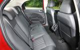 Alfa Romeo 159 rear seats